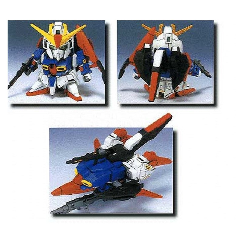 BANDAI LEGEND BB GUNDAM Z 10 CM MODEL KIT ACTION FIGURE