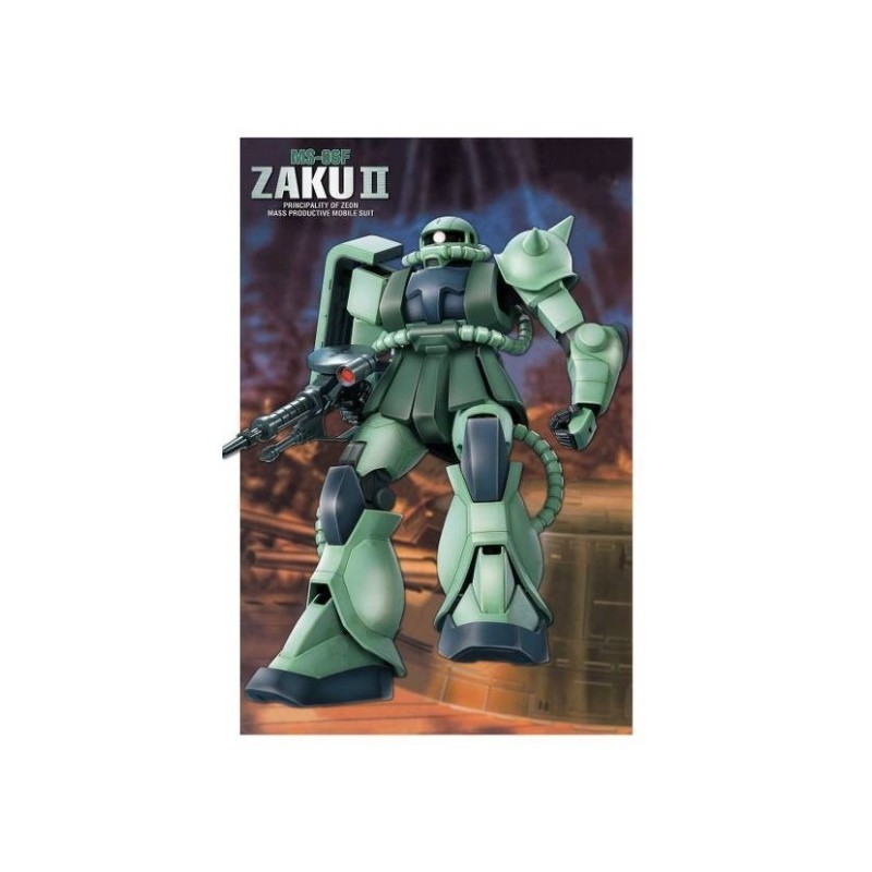 FIRST GRADE FG GUNDAM ZAKU II MS-06F 1/144 MODEL KIT FIGURE BANDAI
