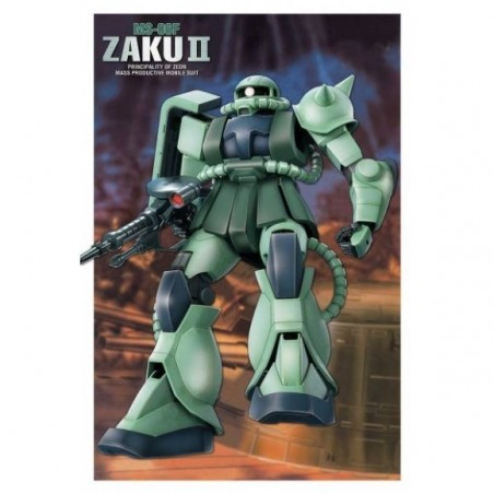 FIRST GRADE FG GUNDAM ZAKU II MS-06F 1/144 MODEL KIT FIGURE