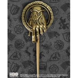 GAME OF THRONES HAND OF KING SPILLA PRIMO CAVALIERE REPLICA MEDAGLIONE
