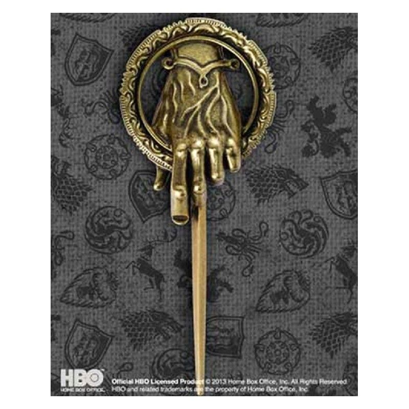 GAME OF THRONES HAND OF KING SPILLA PRIMO CAVALIERE REPLICA NOBLE COLLECTIONS