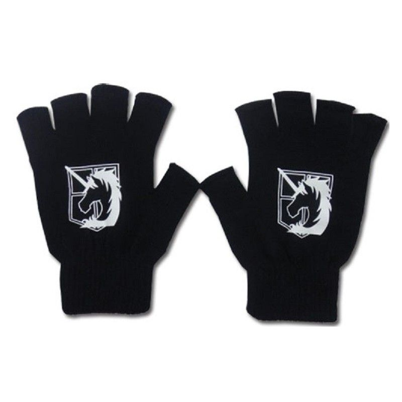 ATTACK ON TITAN MILITARY POLICE GLOVE GUANTI GE ANIMATION