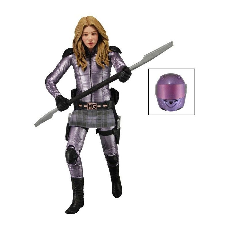 NECA KICK ASS 2 SERIE 2 HIT GIRL ACTION FIGURE