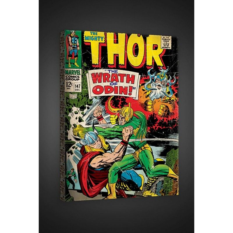 FOR WALLS THOR CLASSIC STAMPA SU TELA CANVAS 40 X 60 CM