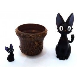STUDIO GHIBLI KIKI DELIVERY JIJI POT VASO RESIN FIGURE