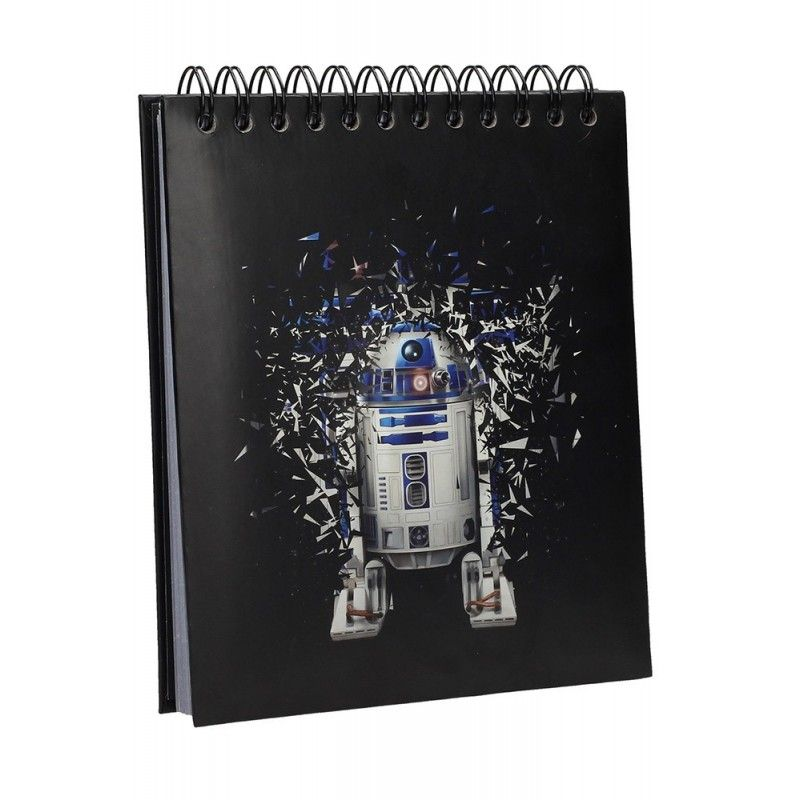 STAR WARS R2-D2 LIGHT N SOUND NOTEBOOK - TACCUINO SUONI E LUCI 19X21CM