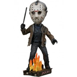 FRIDAY THE 13TH JASON VOORHEES BOBBLE HEADKNOCKER ACTION FIGURE