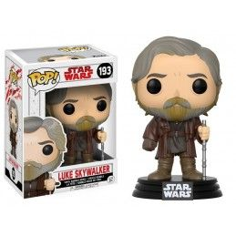 FUNKO POP! STAR WARS - 193 LUKE SKYWALKER BOBBLE HEAD KNOCKER FIGURE