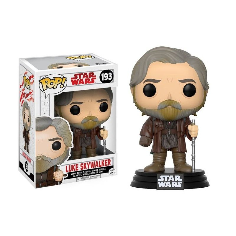 FUNKO FUNKO POP! STAR WARS - 193 LUKE SKYWALKER BOBBLE HEAD KNOCKER FIGURE
