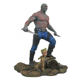 DIAMOND SELECT MARVEL GALLERY GUARDIANS OF THE GALAXY 2 DRAX E GROOT FIGURE STATUE