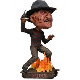 NECA NIGHTMARE ON ELM STREET - FREDDY KRUEGER BOBBLE HEADKNOCKER ACTION FIGURE