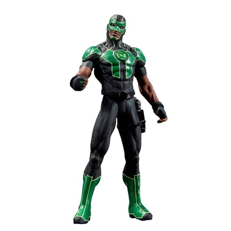 JUSTICE LEAGUE NEW 52 GREEN LANTERN SIMON BAZ ACTION FIGURE DC COLLECTIBLES