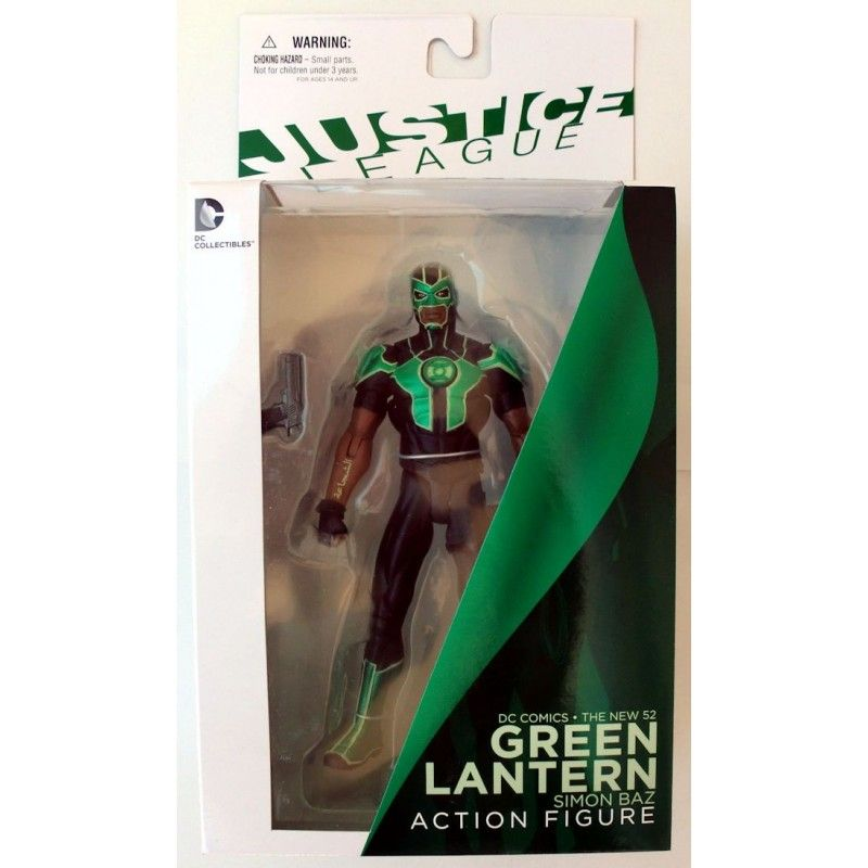 DC COLLECTIBLES JUSTICE LEAGUE NEW 52 GREEN LANTERN SIMON BAZ ACTION FIGURE