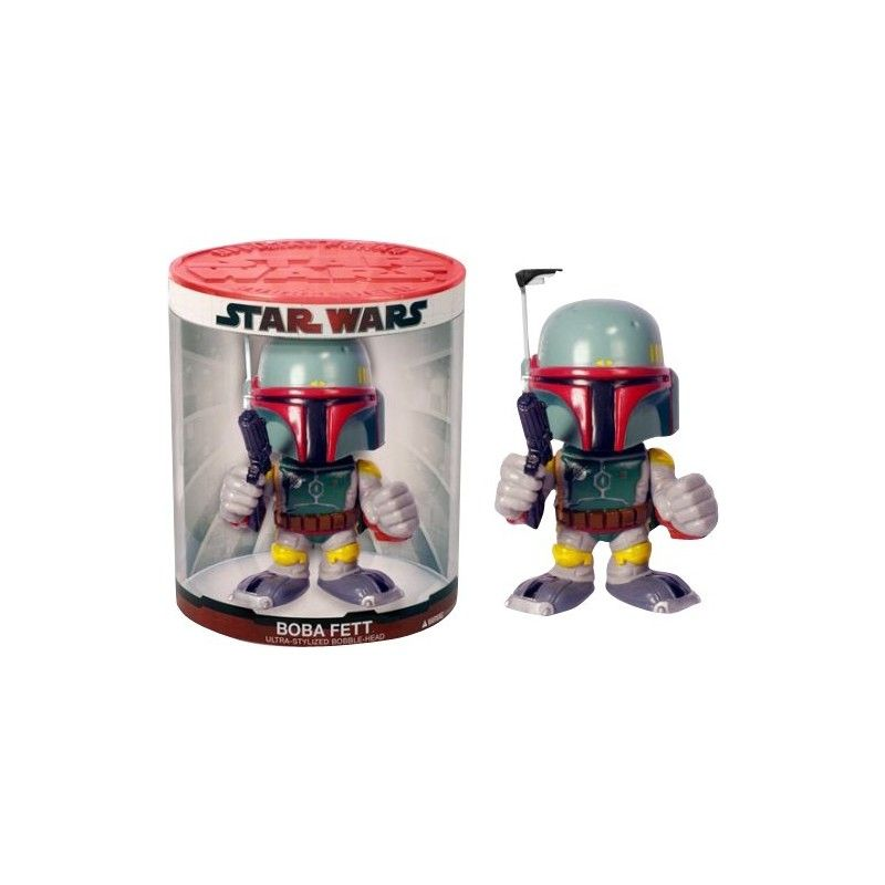 STAR WARS FUNKO FORCE BOBA FETT BOBBLE HEAD ACTION FIGURE FUNKO