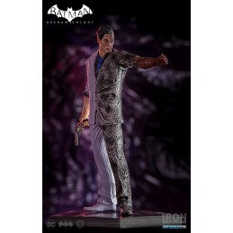 BATMAN ARKHAM KNIGHT - TWO-FACE DUE FACCE FIGURE STATUE IRON STUDIOS
