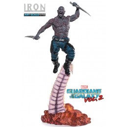 GUARDIANS OF THE GALAXY VOL.2 DRAX FIGURE STATUE IRON STUDIOS