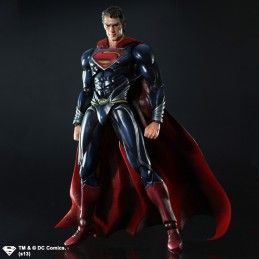 SUPERMAN THE MAN OF STEEL SUPERMAN PLAY ARTS KAI
