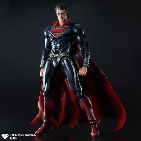 SUPERMAN THE MAN OF STEEL SUPERMAN PLAY ARTS KAI ACTION FIGURE