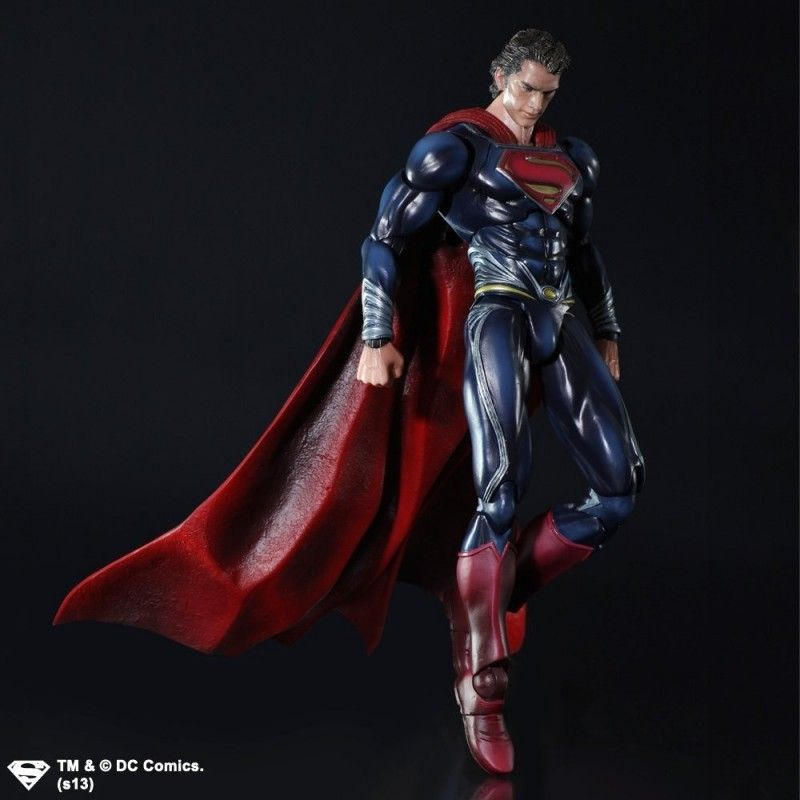 SQUARE ENIX SUPERMAN THE MAN OF STEEL SUPERMAN PLAY ARTS KAI ACTION FIGURE