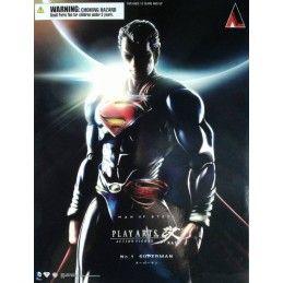 SUPERMAN THE MAN OF STEEL SUPERMAN PLAY ARTS KAI