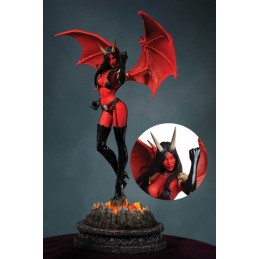 WOMEN OF DYNAMITE PURGATORI STATUE 30CM LIMITED FIGURE