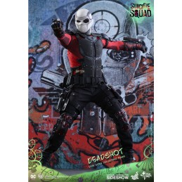 "SUICIDE SQUAD - DEADSHOT 12"" 30CM ACTION FIGURE HOT TOYS"