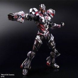 DC COMICS CYBORG LIMITED VARIANT PLAY ARTS KAI PAK ACTION FIGURE SQUARE ENIX