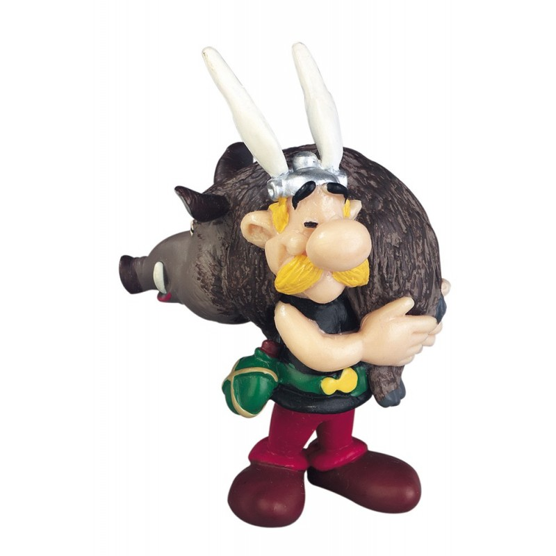 ASTERIX - ASTERIX WITH BOAR PVC FIGURE MINI STATUE