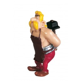 PLASTOY ASTERIX - FULLIAUTOMATIX THE SMITH PVC FIGURE MINI STATUE
