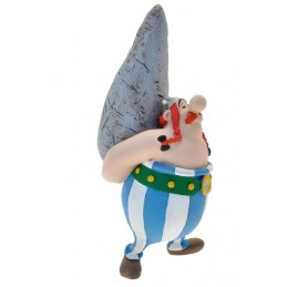 ASTERIX - OBELIX WITH MENHIR PVC FIGURE MINI STATUE