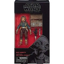 HASBRO STAR WARS THE BLACK SERIES - MAZ KANATA ACTION FIGURE