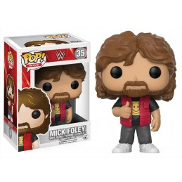 FUNKO POP! WWE - MICK FOLEY BOBBLE HEAD KNOCKER FIGURE