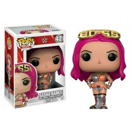 FUNKO POP! WWE - SASHA BANKS BOBBLE HEAD KNOCKER FIGURE