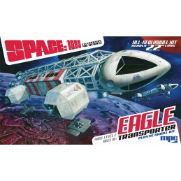 SPACE SPAZIO 1999 - AQUILA EAGLE TRANSPORTER MODEL KIT FIGURE SCALA 1/48 MPC
