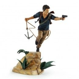 UNCHARTED 4 A THIEF'S END - NATHAN DRAKE STATUE 30CM FIGURE GAYA ENTERTAINMENT