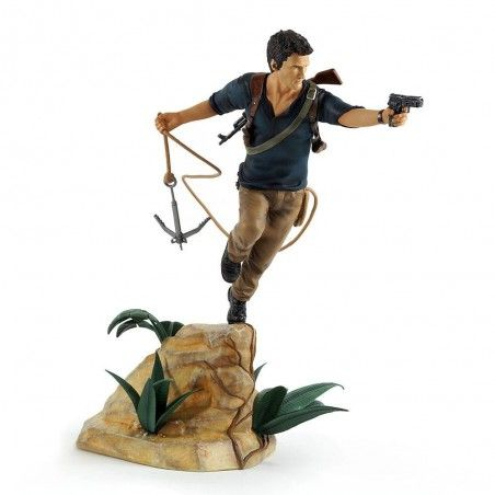 UNCHARTED 4 A THIEF'S END - NATHAN DRAKE STATUE 30CM FIGURE