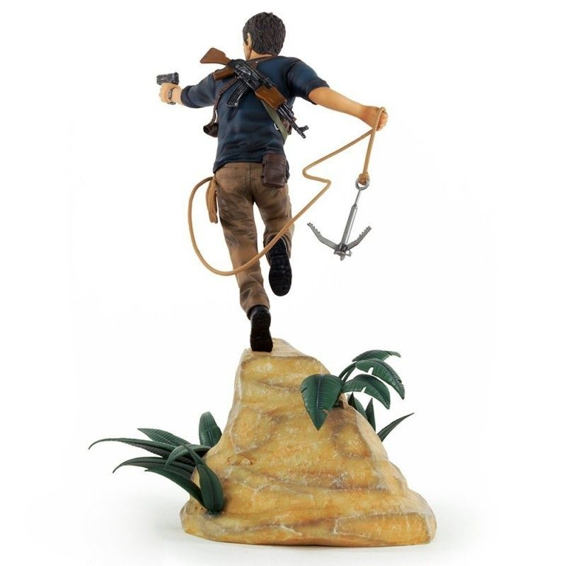 GAYA ENTERTAINMENT UNCHARTED 4 A THIEF'S END - NATHAN DRAKE STATUE 30CM FIGURE