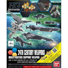 HIGH GRADE HGBC 24TH CENTURY WEAPONS BUILD FIGHTERS 1/144 MODEL KIT