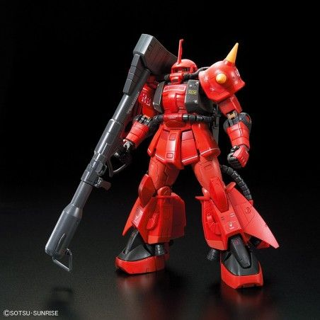 REAL GRADE RG JOHNNY RIDDEN ZAKU II MS-06R-2 1/144 MODEL KIT FIGURE