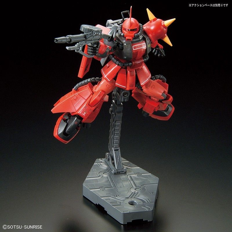 BANDAI REAL GRADE RG JOHNNY RIDDEN ZAKU II MS-06R-2 1/144 MODEL KIT FIGURE