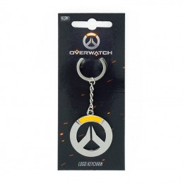 OVERWATCH LOGO METAL KEYCHAIN PORTACHIAVI KEYRING GAYA ENTERTAINMENT