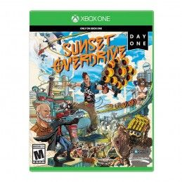 SUNSET OVERDRIVE XBOXONE XBOX ONE USATO GARANTITO ITALIANO