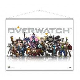 OVERWATCH HEROES WALLSCROLL POSTER 100 X 77 CM GAYA ENTERTAINMENT
