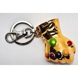 INFINITY GAUNTLET GUANTO DELL'INFINITO PORTACHIAVI KEYRING SEMIC