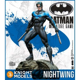 BATMAN MINIATURE GAME - NIGHTWING MINI RESIN STATUE FIGURE