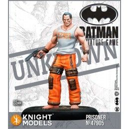 KNIGHT MODELS BATMAN MINIATURE GAME - BLACKGATE PRISONERS MINI RESIN STATUE FIGURE