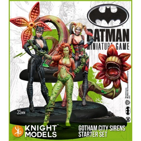 BATMAN MINIATURE GAME - GOTHAM CITY SIRENS STARTER SET FIGURE