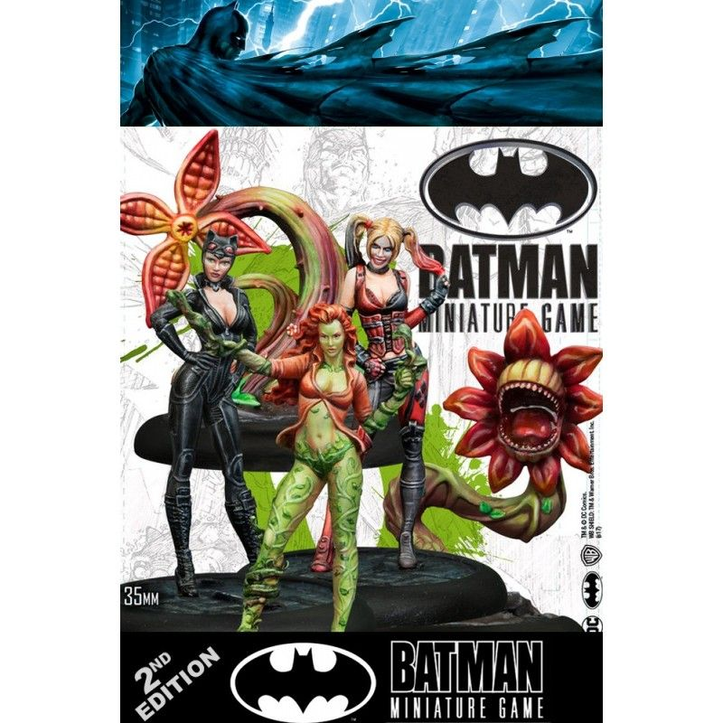KNIGHT MODELS BATMAN MINIATURE GAME - GOTHAM CITY SIRENS STARTER SET FIGURE