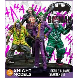 BATMAN MINIATURE GAME - JOKER AND CLOWNS STARTER SET FIGURE