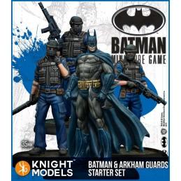 BATMAN MINIATURE GAME - BATMAN AND ARKHAM GUARDS STARTER SET FIGURE
